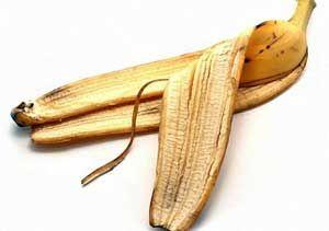 Лайфхак: банановая кожура как отличное удобрение #лайфхаки #идеи #советы #дача #сад #огород #рассада
