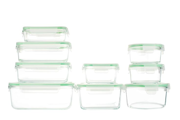 18-Piece Glass Storage Container Set