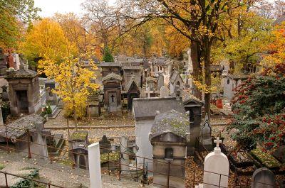 Père-Lachaise cemetery - Oscar Wilde & Jim Morrison