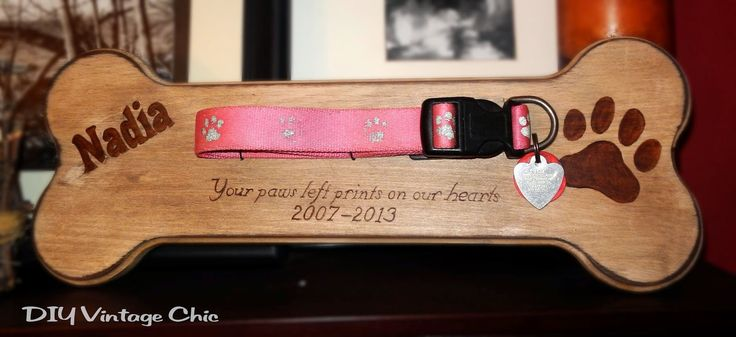 DIY Vintage Chic: Pet Remembrance