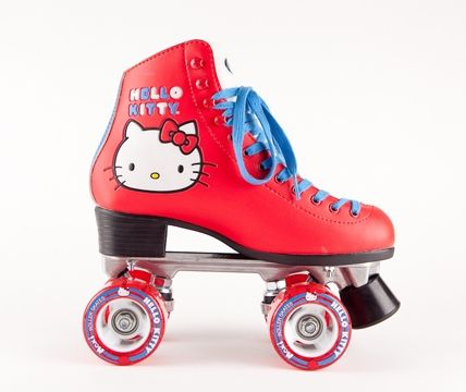 Moxi Hello Kitty Skates allow you to show your love for Hello Kitty out on the streets or at your local roller rink!