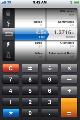 Convert - beautiful calculator app