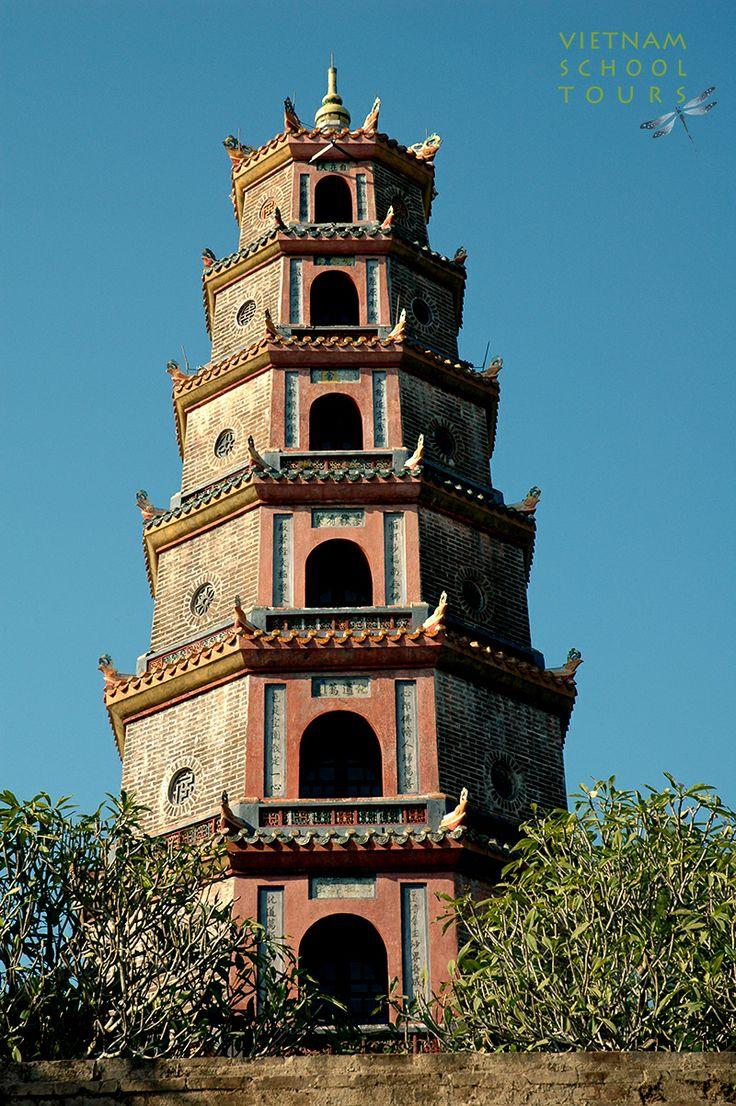 Phuoc Duyen tower in Thien Mu pagoda