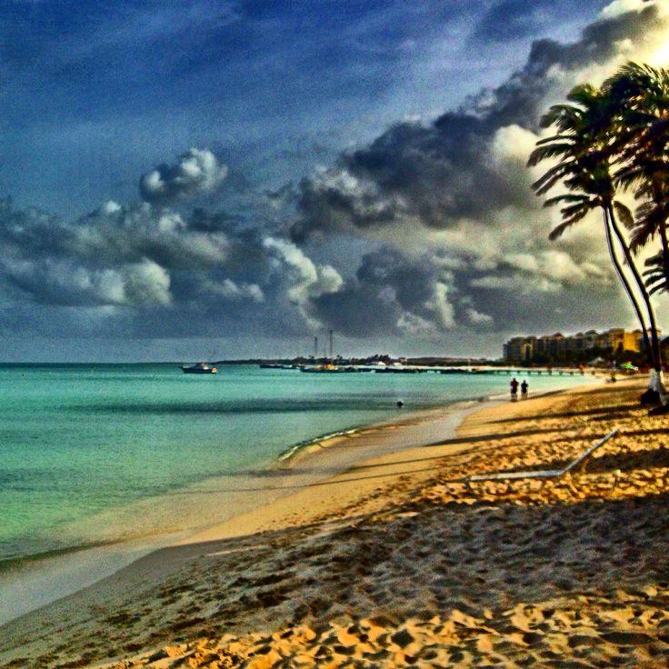 Morning. Aruba