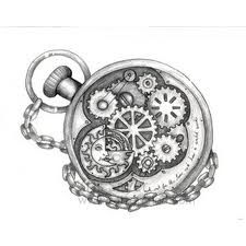 i dont know what a steam punk tattoo is but i would like something that symbolizes just how man made the idea of time is.