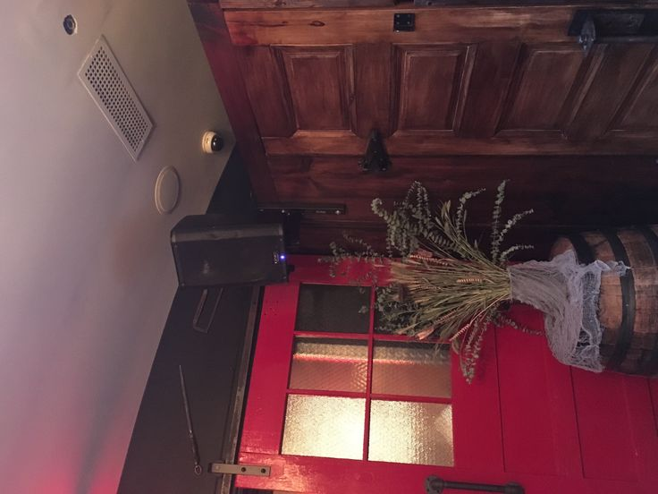 QSC k8 hung on on-stage speaker mount. Located at Butcher Bar on Orchard Street in Lower east Side of Manhattan  Installed by Second GenerationLLC #qsc #onstage #butcherbar #djnomadnyc #poweredspeakers #renovation #diyproject #project