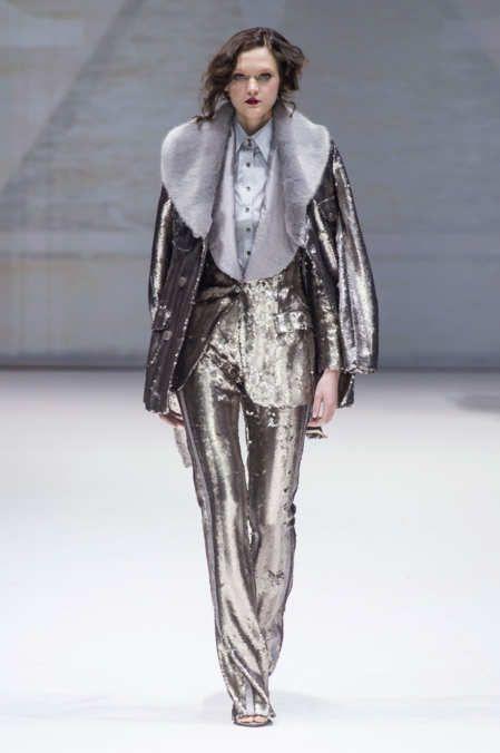 Sequin suit set
