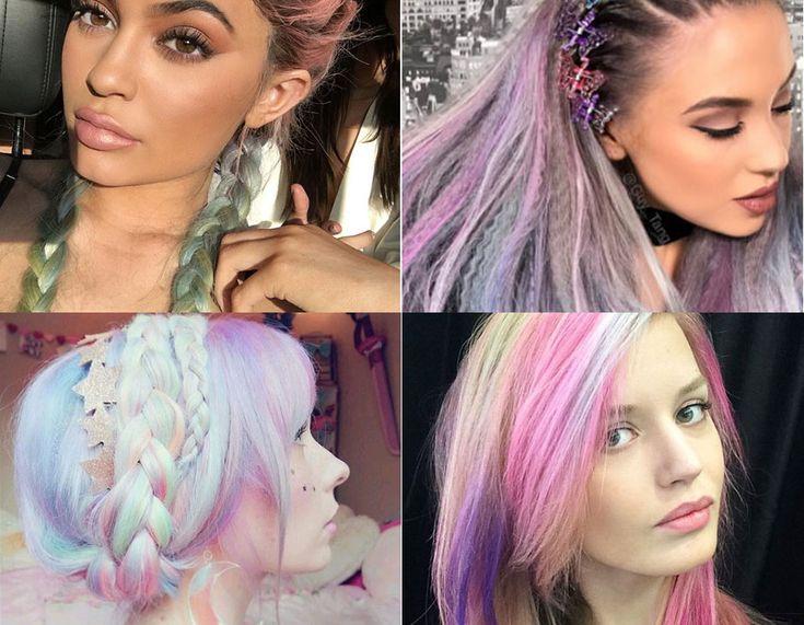 Vuoi provare i capelli arcobaleno come gli unicorni? Ecco come realizzare i rainbow hair, con tutte le ispirazioni più belle da Instagram e dalle star!