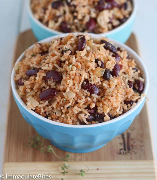 If you delight in traditional Caribbean food then you should consider making this scrumptious  rice and beans. Sometimes referred to as rice and peas if made with pigeon peas or  yellow peas. I am not from the Caribbean Islands, only paid a short visit to the island . So I have no preference for beans. …
