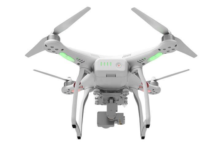 Back view of the DJI Phantom 3 Standard Quad Drone for sale.