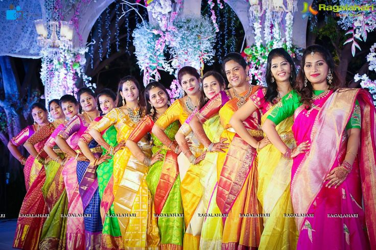 The Half saree function is a ceremony exclusively followed by South Indian families. Swetha Reddy from Hiya Jewellers recently held the half-saree ceremony for her daughter Hiya. Functions included Mehendi, Sangeet and the traditional half-saree event. The ceremony ended grandly with a Saree ceremony. Outfits for all the functions were designed by Kanyaa Designer Boutique. Take a look at the fabulous work they have done!