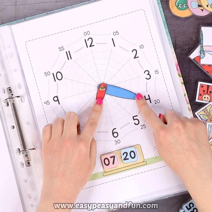 Printable Bugs Quiet Book – Activity Book for Pre-K and K