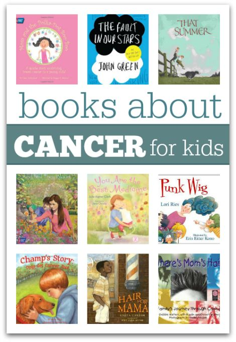 Cancer touches so many families every day and it's not easy to talk to your kids about it. Books can help. Here are a list of books about cancer for children.