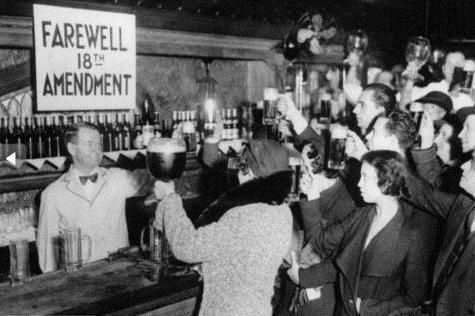 Happy Repeal of the Volstead Act: Eighty years ago today, on Dec. 5 1933, the 18th Amendment was repealed, bringing national alcohol prohibition to an end.