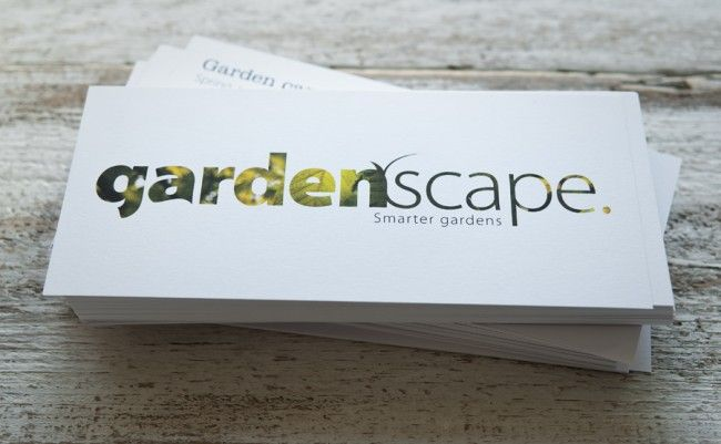 gardenscape Business Cards And Flyers Printed By Solopress http://blog.solopress.com/green-printing/gardenscape-business-cards-and-flyers-printed-by-solopress/ #businesscards #flyers