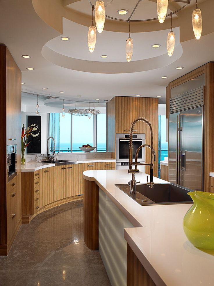 Charmant Kosher Kitchen Design. Hence The 2 Sinks.