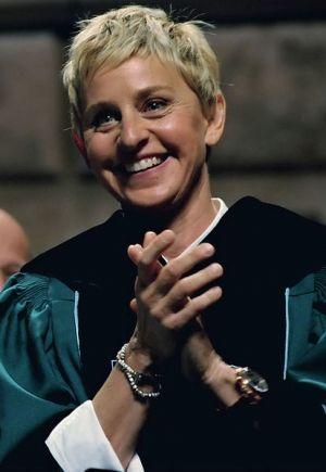 Ellen DeGeneres wears cleavage-baring Nicki Minaj Halloween costume   TheCelebrityCafe.com