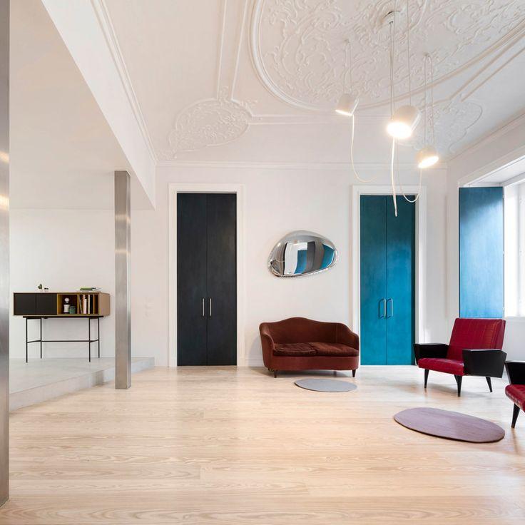 Die Besten 17 Bilder Zu Interiors House Auf Pinterest | Flache ... Farbgestaltung Wohnung Ideen Charakter