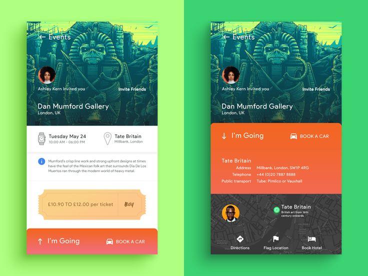 Events App by Moatasem Kharazz - Dribbble