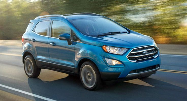 2018 Ford EcoSport Subcompact SUV Coming To USA With 1.0L And 2.0L Engines #Ford #Ford_EcoSport