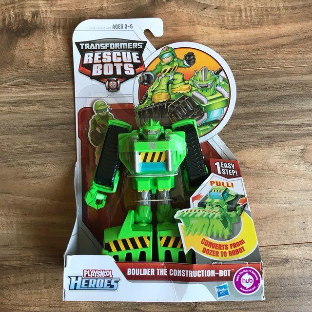 Cool item: New Transformers Rescue Bots Boulder