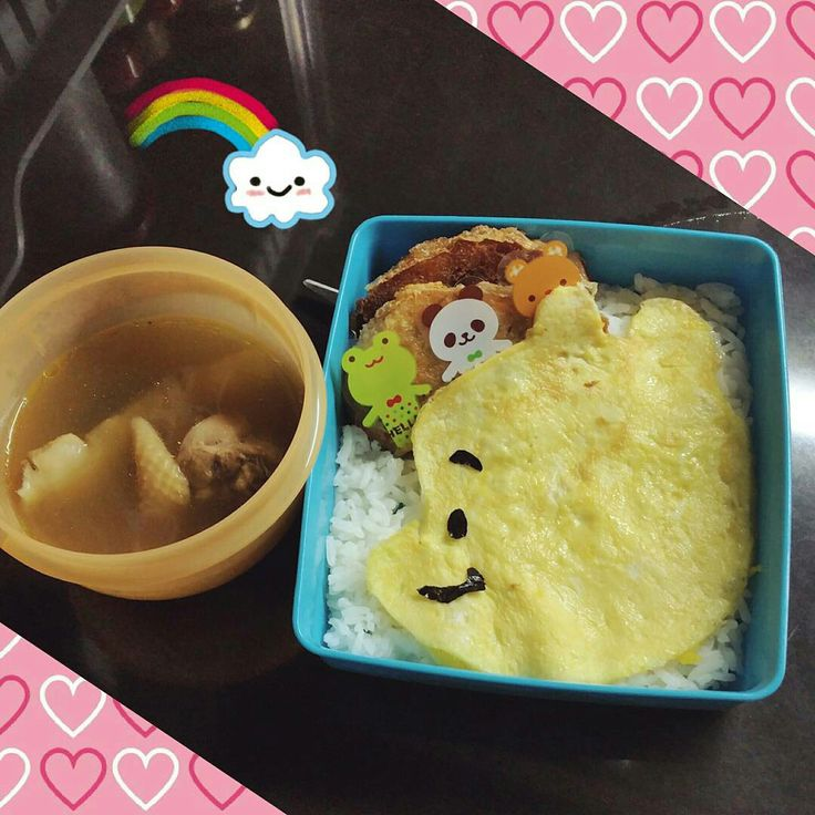 Simple monday.. Pooh bento