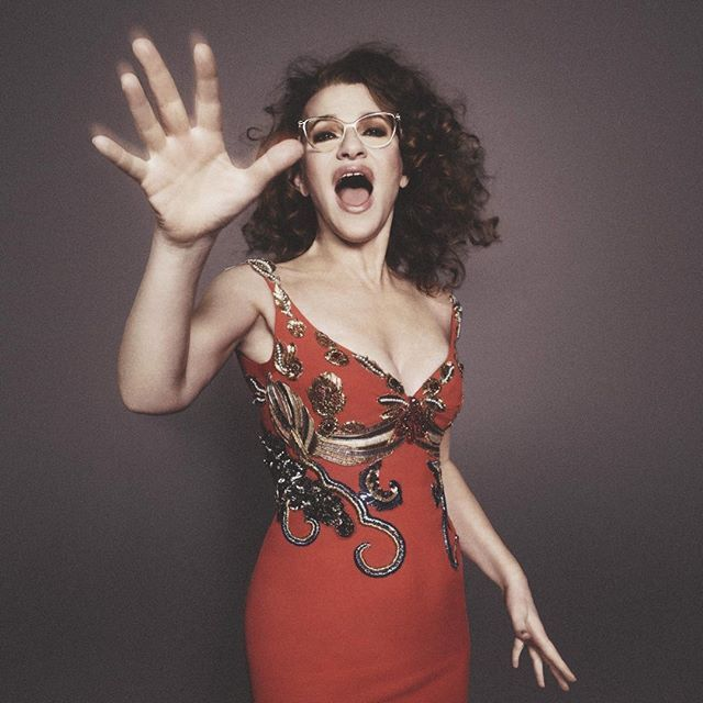 """I first saw Sandra Bernhard in the 1982 film, """"The King of Comedy,"""" and was in absolute awe of her cynicism, sarcastic wit and unfiltered in-your-faceness. Her sense of humor, comedic timing and brilliant irreverence has always been so admiringly bold.  Sandra's comedic consciousness, integrity and genuineness is harsh, hard and authentic.  This portrait of my friend Sandra by David Sims -styled by Katie Grand - for our SS16 ad campaign perfectly captures her acerbic vocal styling, pure…"""