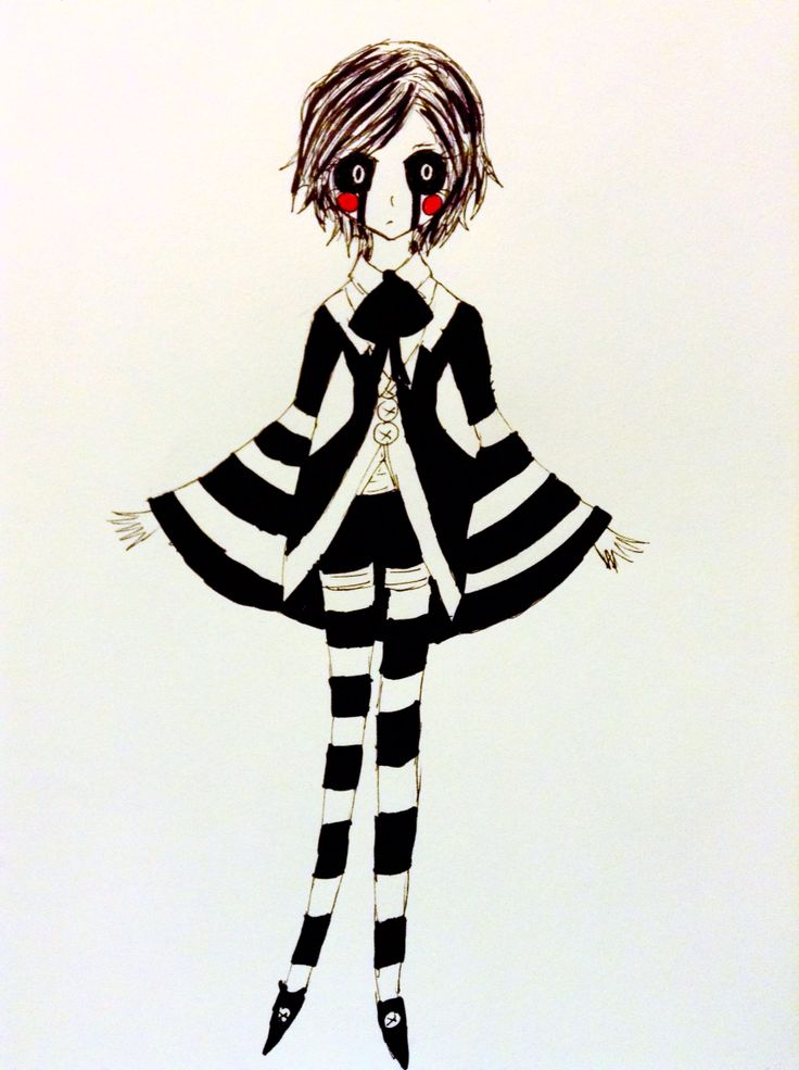 I was thinking of changing my marionettes long pants to shorts with stripped stockings What do you guys think? ~Miss-Marionette
