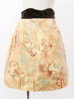 Jane Marple S-1195 velour skirt
