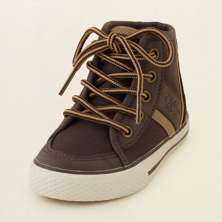 baby boy - shoes - military hi-top sneaker | Children's Clothing | Kids Clothes | The Children's Place