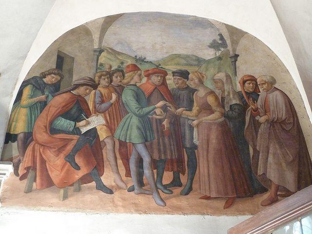 Badia, Oratory of S. Martino and exterior of Bargello