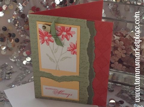 "Hand Make ""Happiness Always"" Card MKC036 – Tamm's Marketplace"