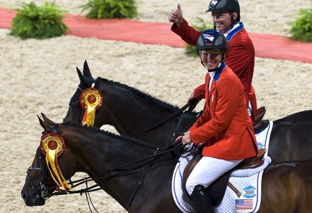 Even when she's broken, Beezie Madden is winning. In May 2014, the USET show jumping veteran fell in the $100,000 Empire State Old Salem\'s Grand Prix (NY