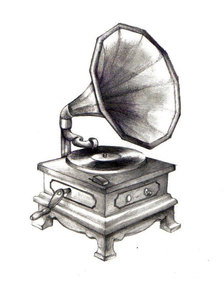 Gramophone by zaphrozz on deviantART