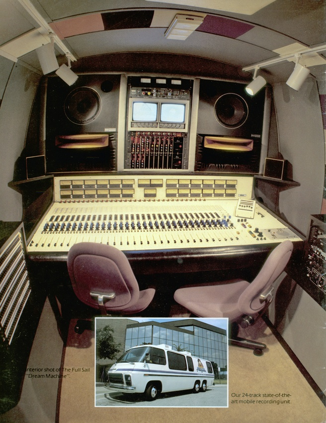 Inside the Dream Machine: A Recording Temple on Wheels. The Dream Machine was a 24-Track mobile recording studio that doubled as a teaching lab-and recorded projects ranging from Aretha Franklin to Bon Jovi.