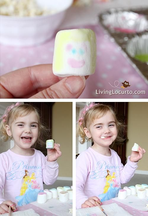 Indoor Fun With an Edible Paint Craft! Great Kids Activity LivingLocurto.com