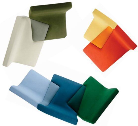 divano colorato di Philippe Nigro