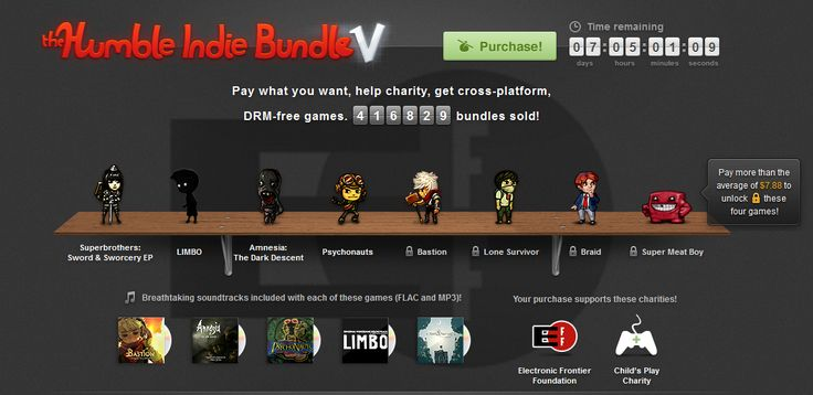 Humble Bundle: 14 Days of Take My Money ~ NerdGenious