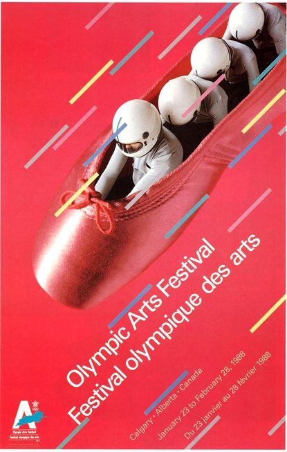 Calgary Olympics Poster.