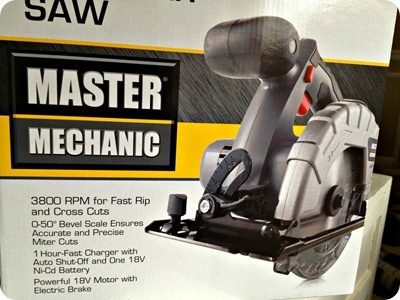 Master Mechanic Circular Saw  Available here at www.ckhardware.com