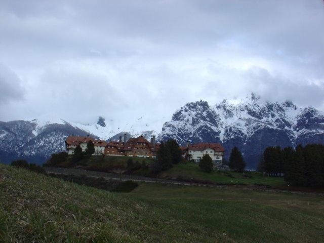 Llao Llao Hotel in Bariloche, Argentina - looks like Switzerland!!