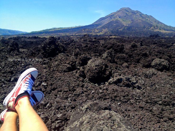 Batur geopark #mountain #mountbatur #kintamani #bali #indonesia #sneakers