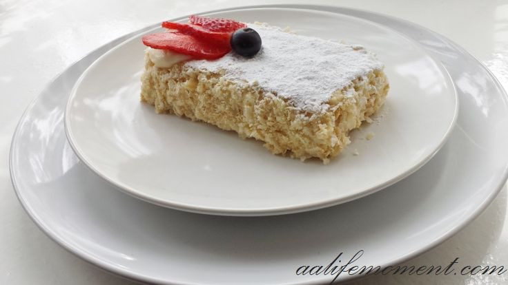 MilleFeuille with Custard recipe