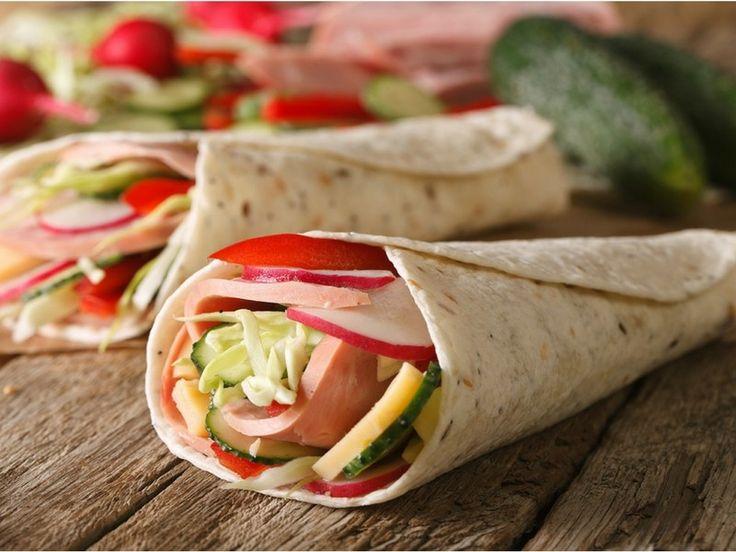 Rychlý, ale zdravý oběd? Bezlepková tortilla jako wrap s čerstvou zeleninou! Tortilla neobsahuje lepek, sóju, mléko ani vejce.