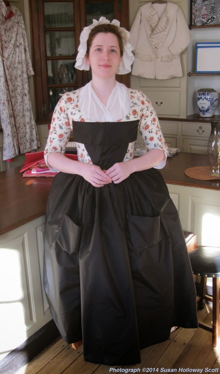 Article On Black Silk Aprons And Their Usefulness In 18Thc -4116