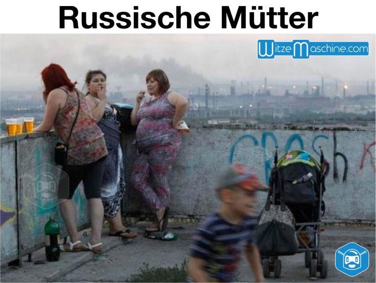 Russische Mütter - Lustige Kindererziehung in Russland