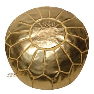 Moroccan Leather Pouf Gold Metallic Moroccan Poufs Ottoman $109: Gold Poufs, Gold Leather, Living Rooms, Metals Moroccan, Gold Moroccan, Baby Girls, Moroccan Poufs, Gold Metals, Leather Poufs