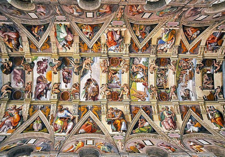Ceilings of Roman Churches by Florian Pagano | via Fubiz.net