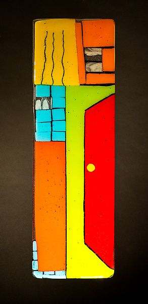 Hare Raising: Meg Branzetti, Vicky Kokolski: Art Glass Wall Art   Artful Home