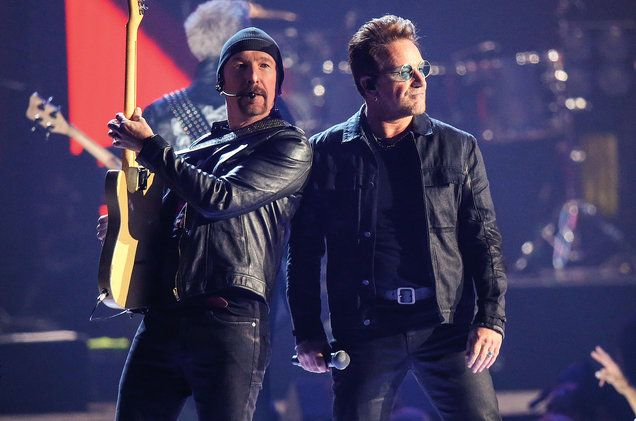 Thanks To Kendrick U2 Become The 4th Act With A Top 40 Hit In Each Of The Last 4 Decades